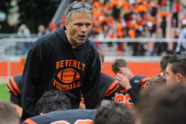 Beverly High School vs Lynn English High School football opener