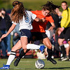 Peabody at Beverly varsity girls soccer game
