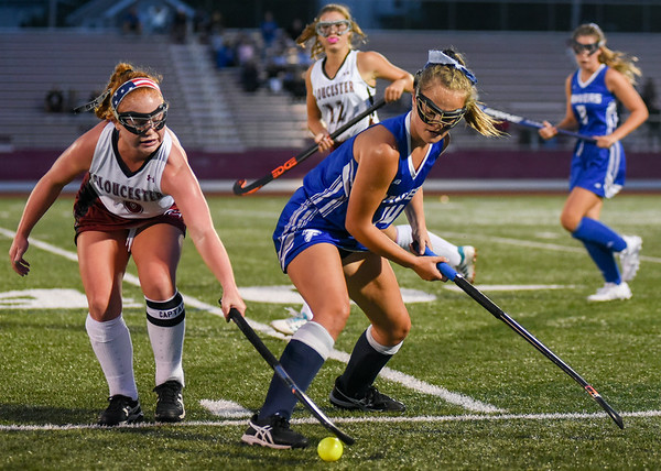 Gloucester vs. Danvers field hockey for GDT and SNEWS