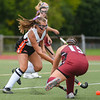 Gloucester at Beverly varsity field hockey game