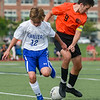 Danvers at Beverly boys varsity soccer game