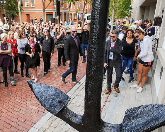 Historic Anchor weighing 4,450 pounds