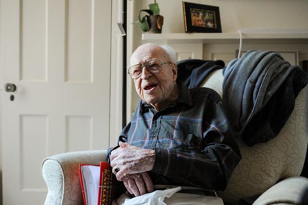 WWII veteran Len Kieley turns 100