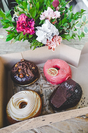 Doughnuts & Flowers