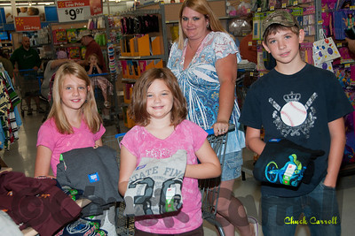 Salvation Army of Centrte County -Back To School August 13, 2011  -  State College PA