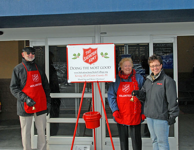 The Salvation Army - Christmas Give-Away   - &  -  Bell Ringing - 2007