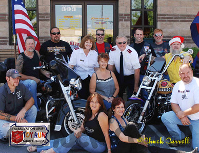 The comittee that made this Toy Run possible   The Salvation Army of Centre County 2007 Toy Run