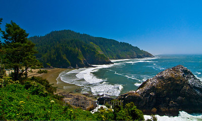 Summer Day on the Oregon Coast