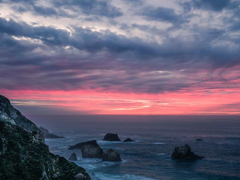 Uncalibrated Magenta Sunset