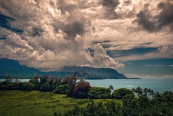 Hanalei Bay and Bali Hai