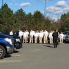 Middlesex Sheriffs department cadets at Veterans park in Dracut. Photo by Colleen Garry