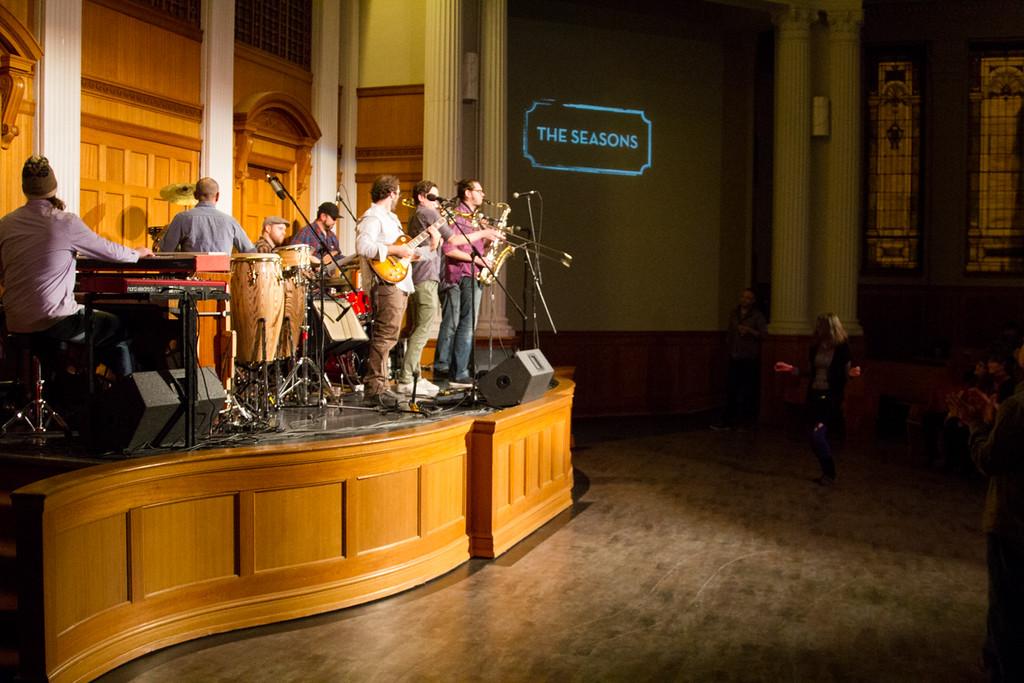 The Polyrhythmics<br /> The Seasons Performance Hall