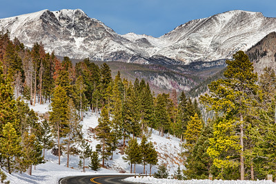Snow in RMNP - Ypsilon and Fairchild Mountains