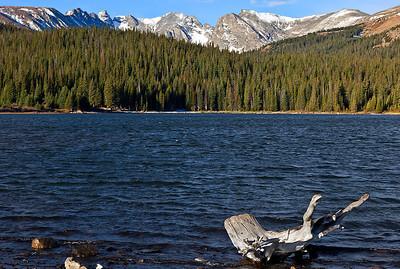 Brainard Lake in early Autumn