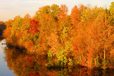 St. Joseph River in Fall II