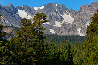 Apache Peak, with Navajo on the Left and Shoshoni on the Right