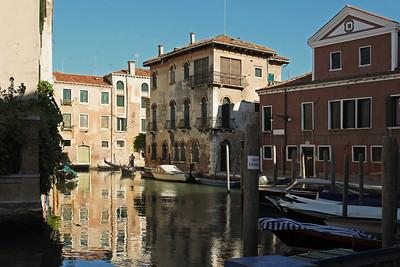 Turning the Corner in Venice