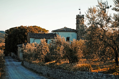 Early Evening in Rignana