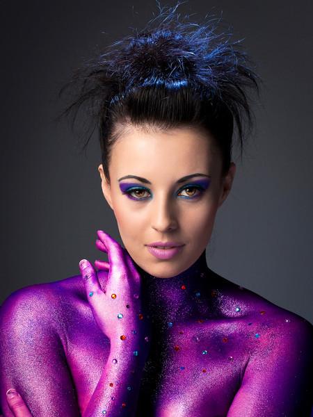 Purple Glitz.
