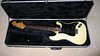 Olympic White Stratocaster - Black Pickguard