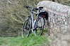 5th April 2015 - Bike on Bridge over Kennet and Avon loaded with Gitzo tripod and Wimberly head
