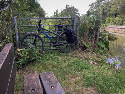 Kennet and Avon Canal - With Bike