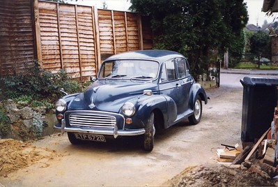 Morris Minor - one of the many