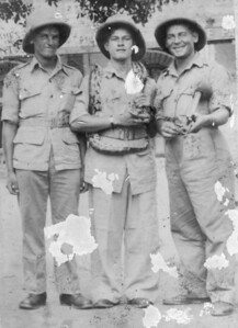 Frederick George Crame (Right) Burma