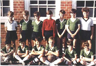 Hungerford Primary School Football Team 1965-66