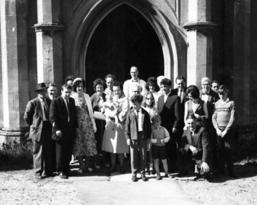 A family Christening