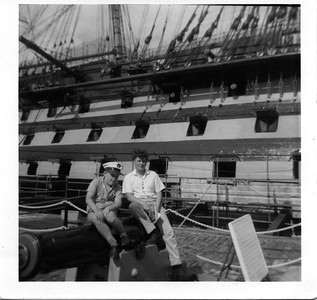 HMS Victory with Neil Leach