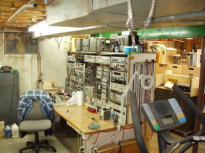 Test repair bench