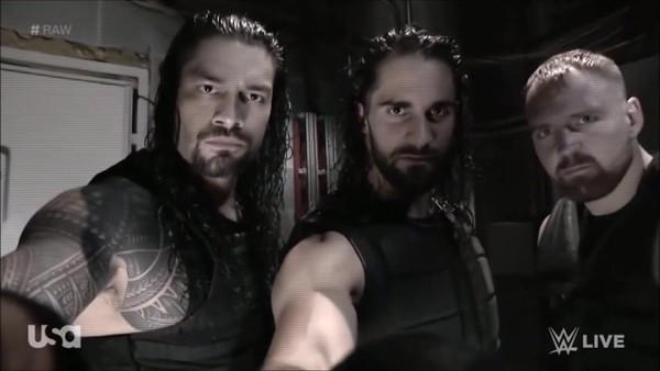 The Shield - Screencaps / Raw backstage Promo (Oct. 8, 2018)