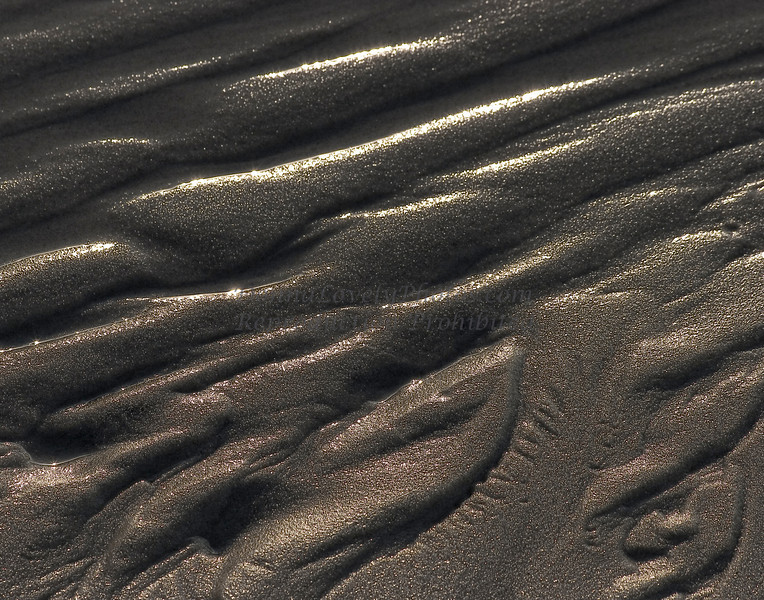 Wet Sand Abstraction