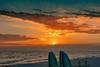 Stunning Sunset, Surfboards & God's Rays_09164_2-18©DonnaLovelyPhotos com -