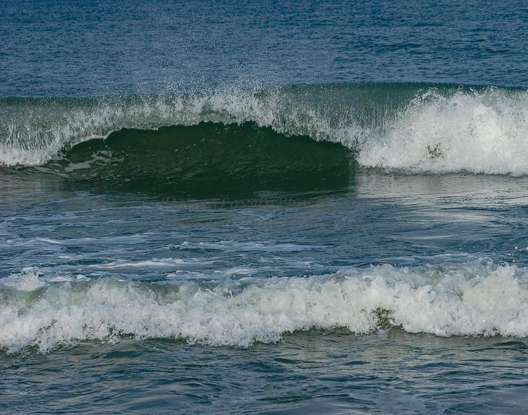 Two Waves Crashing