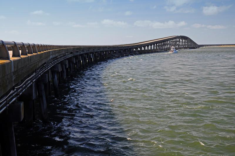 Oregon Inlet Bridge between Nags Head and Rodanthe, NC - 2013