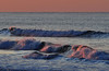 Waves in early morning light - Wildwood Crest, NJ - 2011
