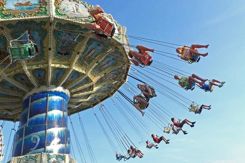Swinging in Wildwood, NJ - 2011