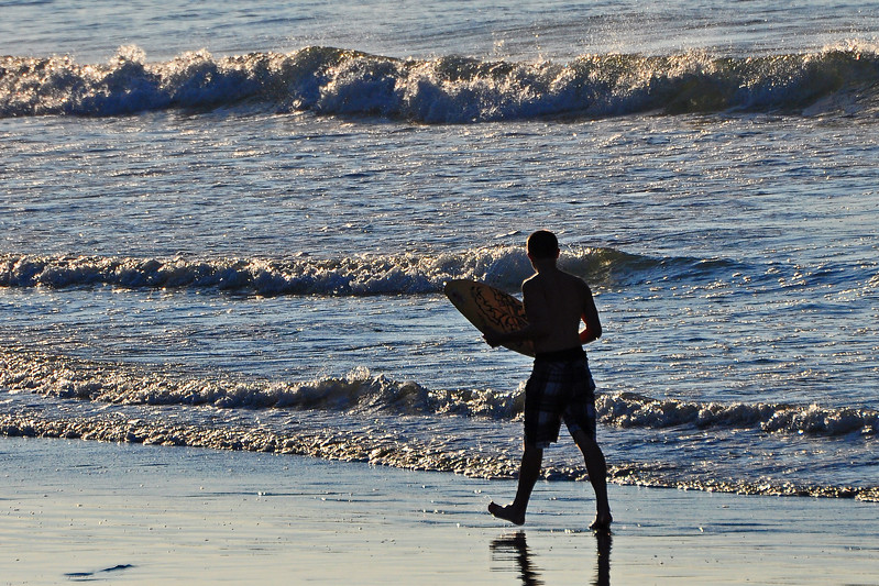 Ready to catch some waves - Wildwood Crest, NJ - 2011