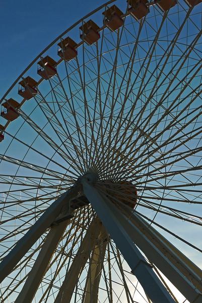 Ferris Wheel on amusement pier - Wildwood, NJ - 2010