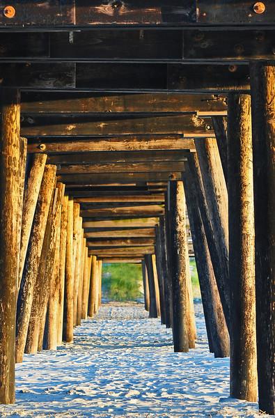 Under the pier - Wildwood Crest, NJ - 2011