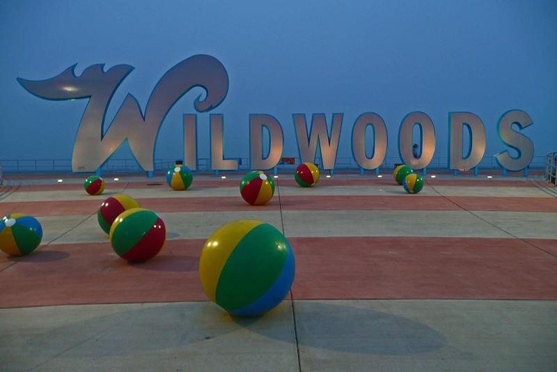 Wildwoods at dusk - 2009