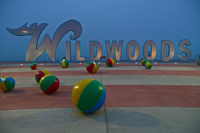 Wildwoods at dusk - 2009