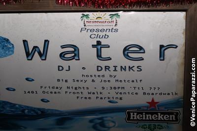 12.16.09 Sidewalk Cafe's Staff Holiday Party. Music by Joe Metcalf, a.k.a. D.J. Sweat.  www.thesidewalkcafe.com.  Photos by www.venicepaparazzi.com