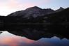 Charlotte Lake and Mt. Bago at dawn