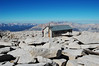 At the top of Mt. Whitney: you know you've arrived when you see this hut