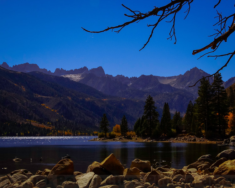 Sawtooth Ridge from Twin Lakes