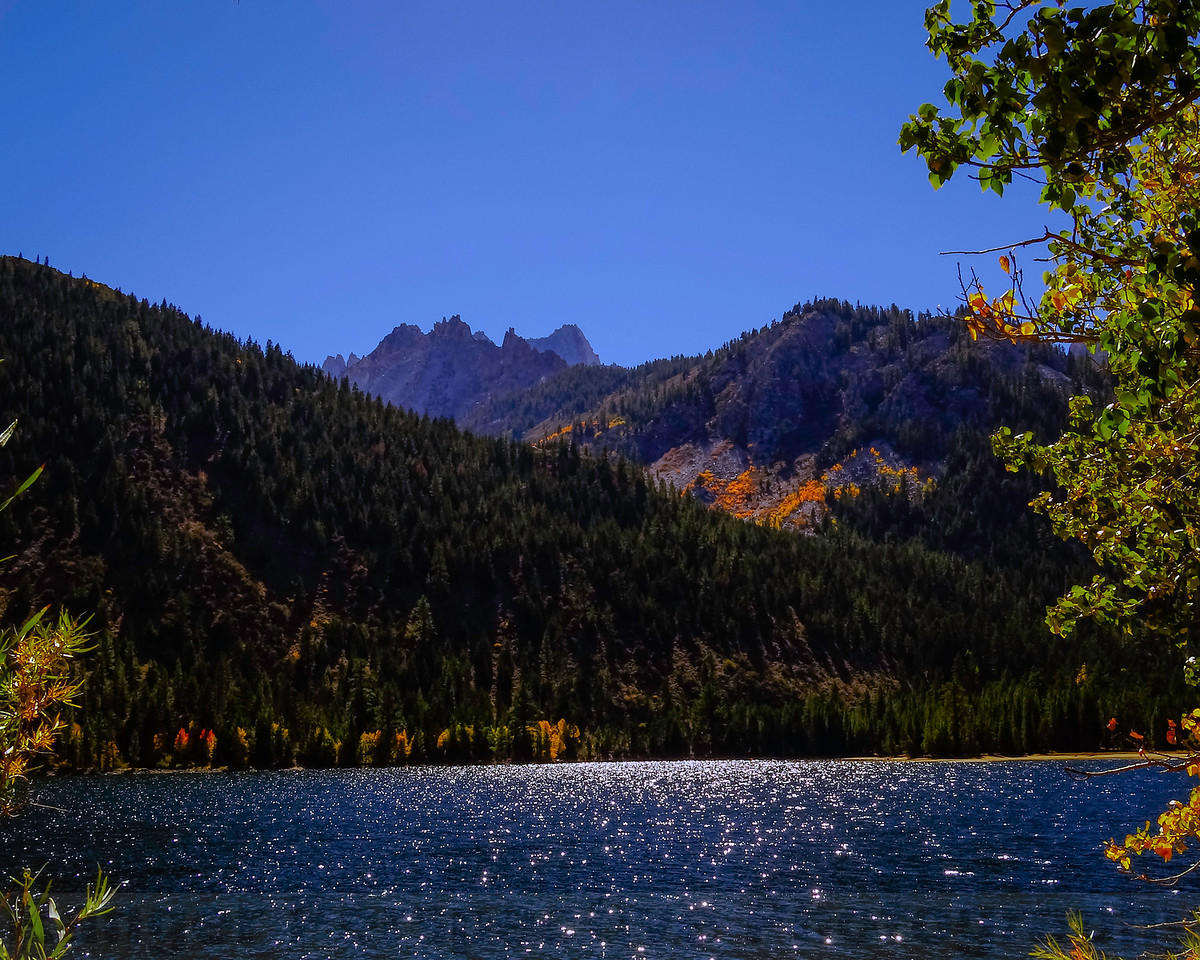 The Sierra from Twin Lakes