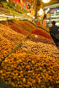 nuts and raisins at International Big Bazaar